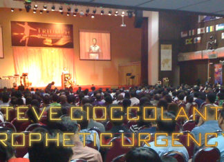 Steve Cioccolanti Church Service Prophecy