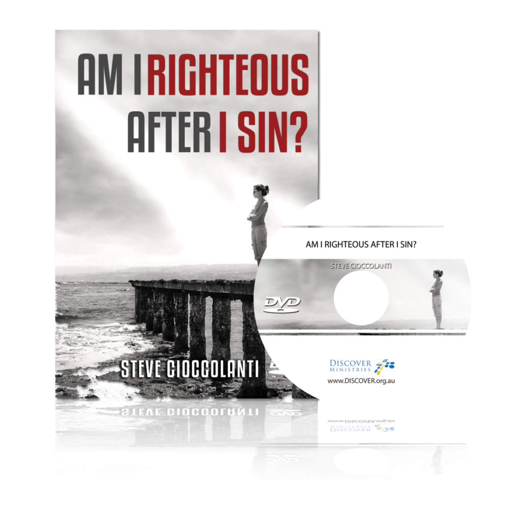 Am I Righteous After I Sin - Cioccolanti DVD