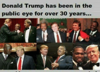 Trump has been in the public eye for over 30 years...and he was never once accused of being racist by anyone until he decided to run against the Democrats