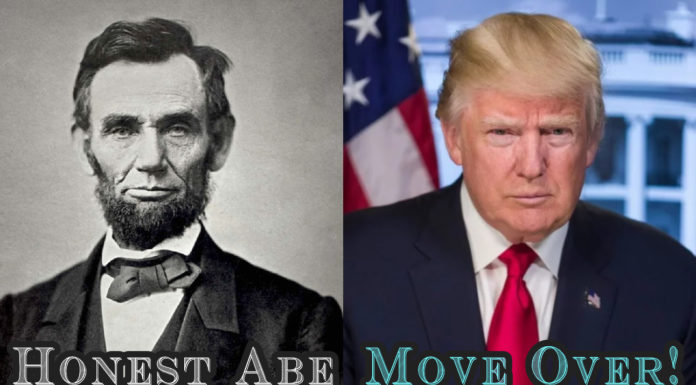 Honest Abe meet Honest Trump!